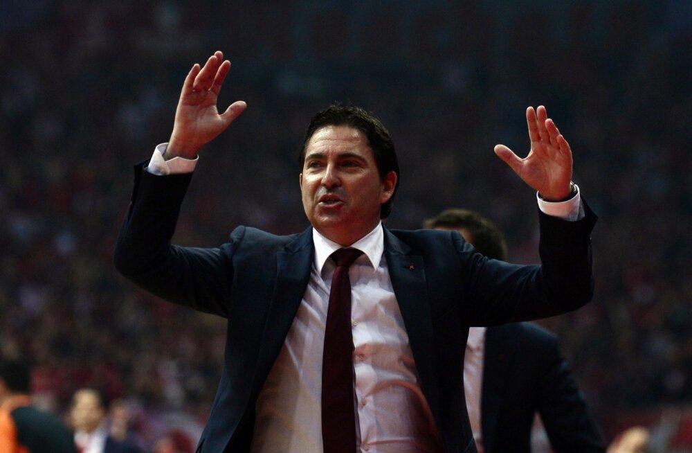 Barcelona peatreener Xavi Pascual