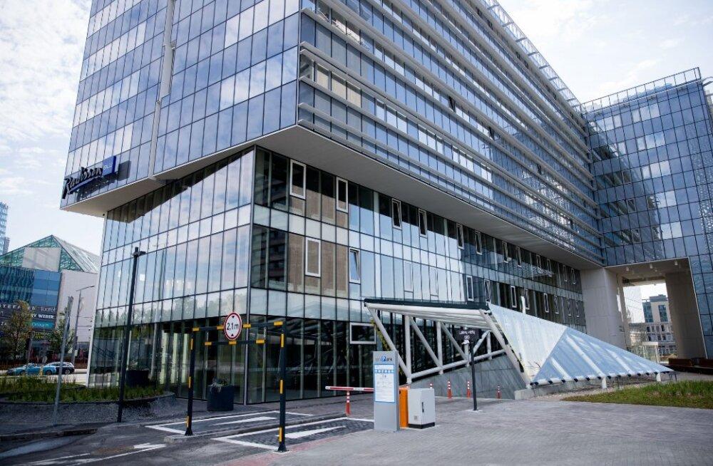 В Вильнюсе открылась самая большая в Литве гостиница