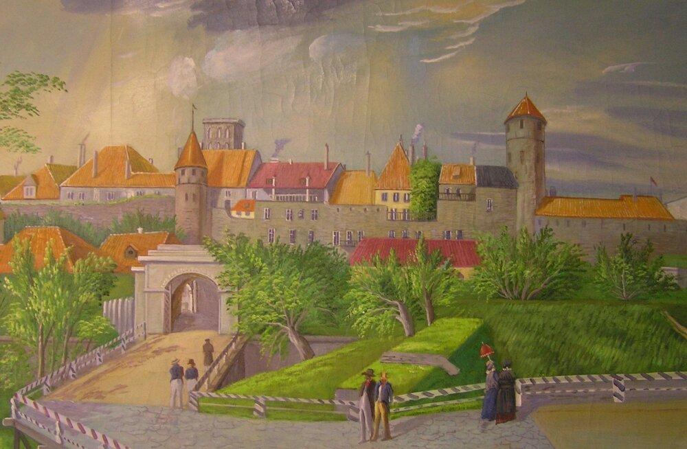 Jaak Juskega kadunud Eestit avastamas: lugu ühest unustusse vajunud Tallinna linnaväravast