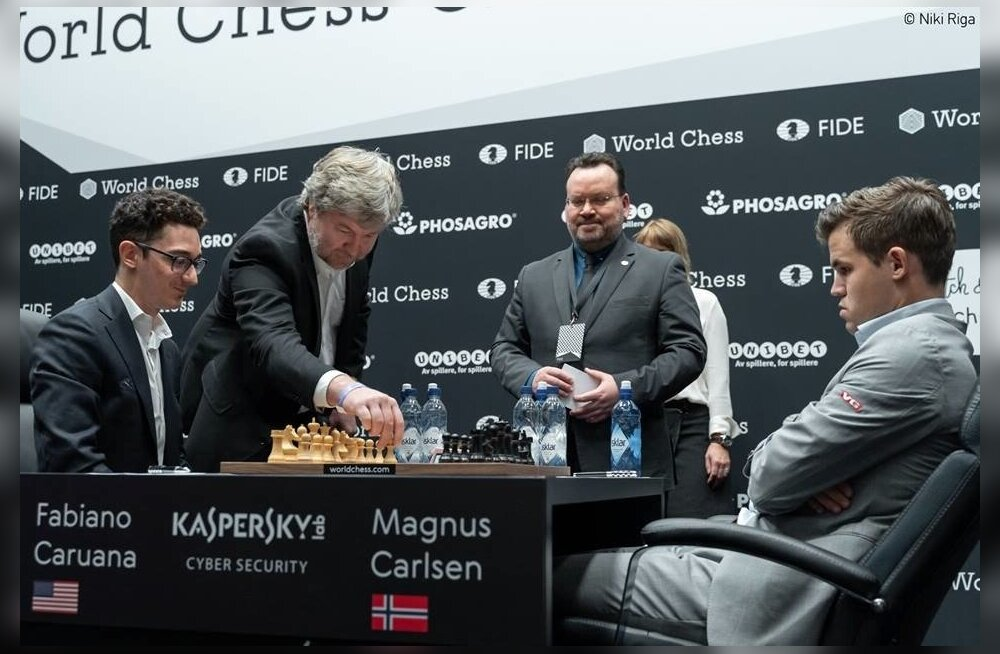Fabiano Caruana vs Magnus Carlsen