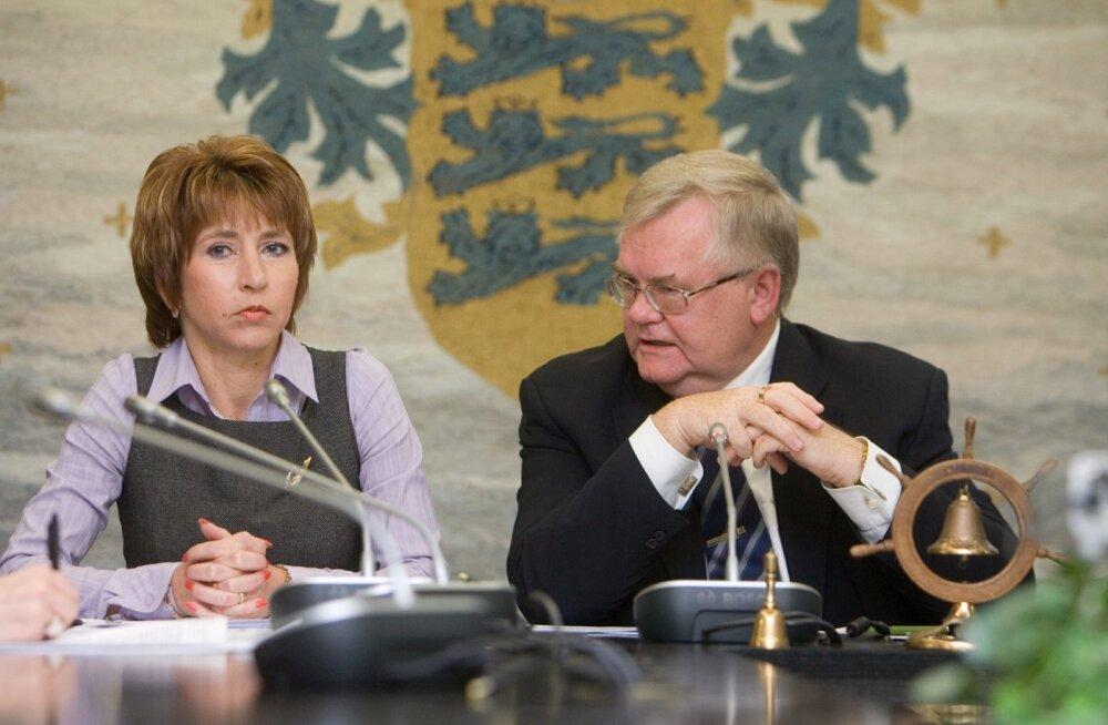Kaia Jäppinen ja Edgar Savisaar
