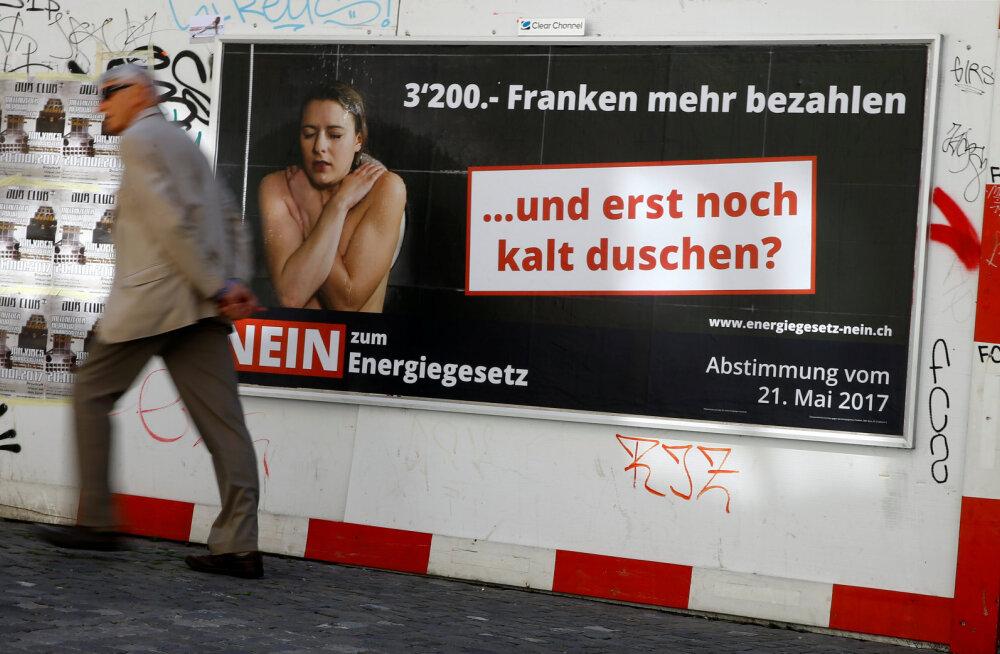 Šveits soovib vabaneda tuumaenergiasõltuvusest