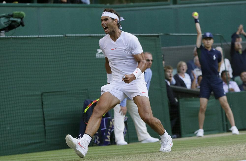 Wimbledoni turniiril selgusid kõik poolfinalistid