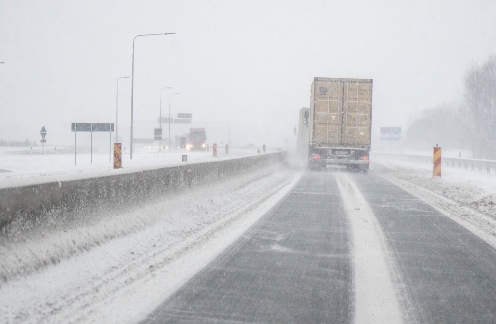 Maanteeamet hoiatab: teedel on suur libeduseoht