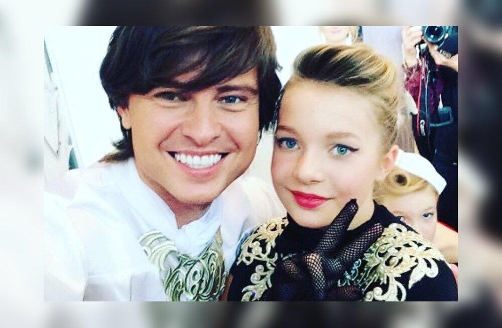 ФОТО: Юная модель из Эстонии выступила с Прохором Шаляпиным
