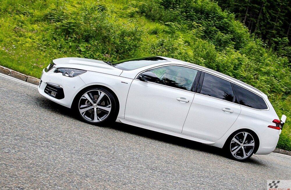Uuenenud Peugeot 308: parimad uudised tulevad kapoti alt ja käigukastist