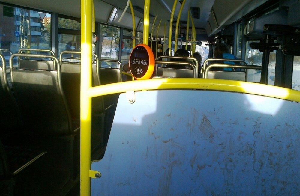 Kas busse depoos/bussiparklas pestakse?