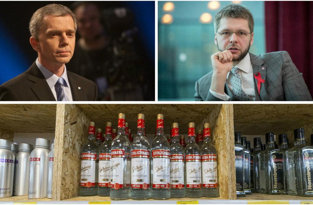Kaarel Tarand: Ossinovski võitlus alkoholiga varjutab kõik muud lahendamata probleemid