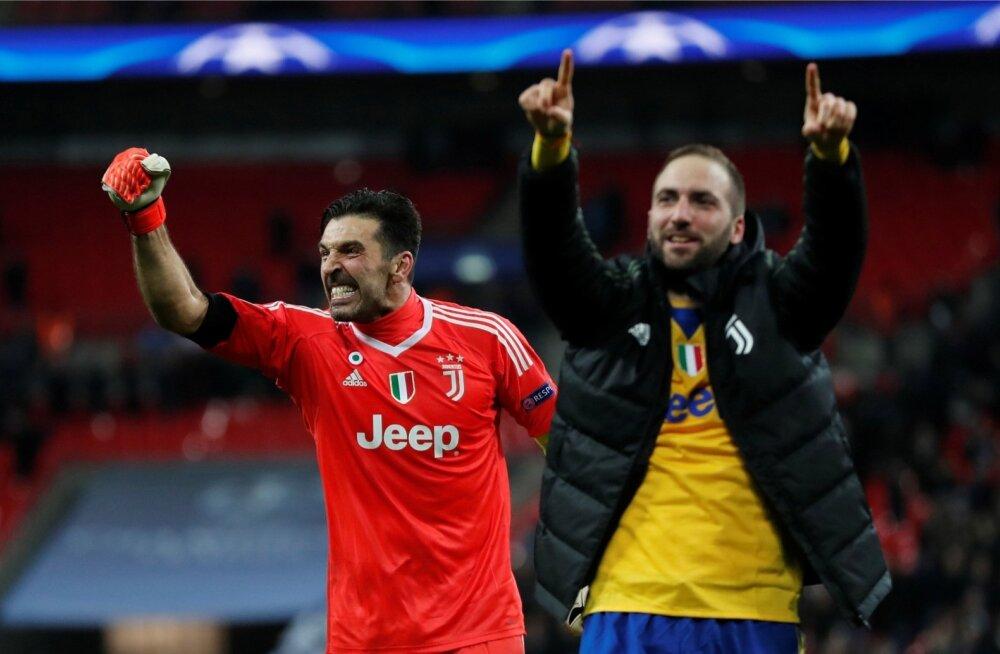 40-aastane Gianluigi Buffon ja 30-aastane Gonzalo Higuain jätkavad oma esimese Meistrite liiga karika püüdmist.