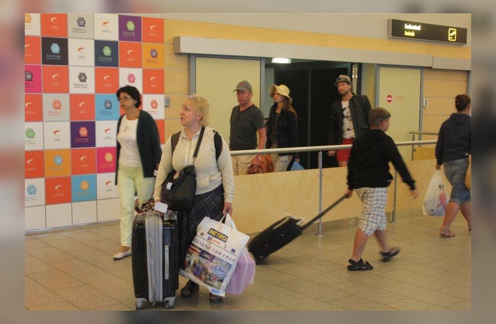 Varnast saabunud turistid