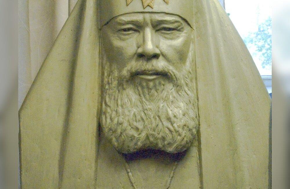 ФОТО: Памятник Алексию II в Ласнамяэ откроют в сентябре