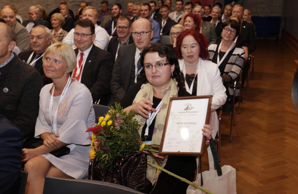 Rahvapõllumees 2018 on Põlvamaa kitsekasvataja Anne Grünberg