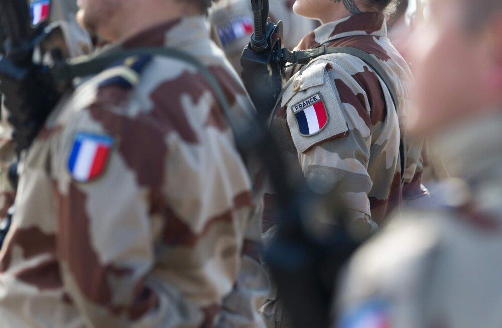 Esmaspäeval jõuavad Eestisse esimesed Prantsuse sõdurid