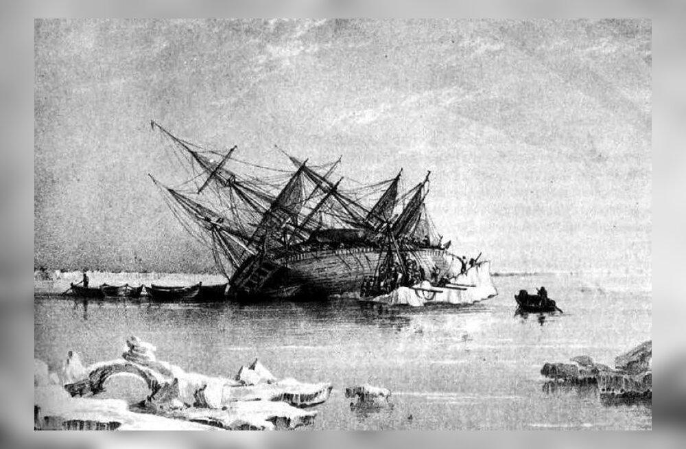 Meremehe varbaküüs andis teadlastele uue juhtlõnga Franklini hukatusliku merereisi uurimisel