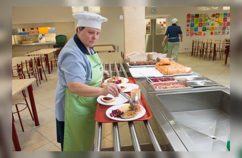 Parim koolisöökla asub Tabasalu Ühisgümnaasiumis