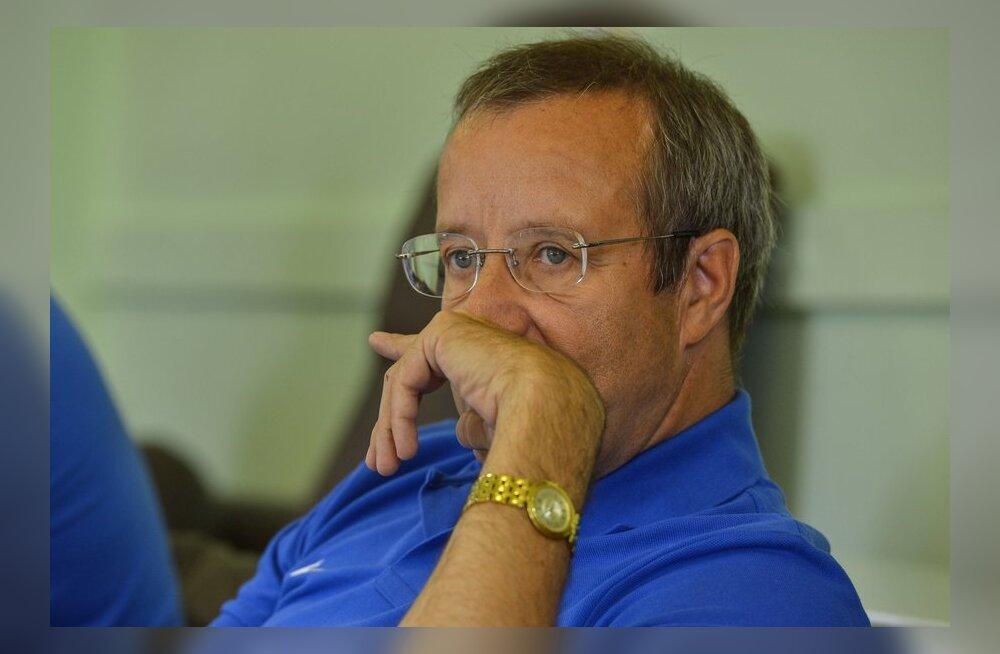 President Toomas Hendrik Ilves viitas Pussy Rioti otsusele kui tänapäeva nõiajahile.