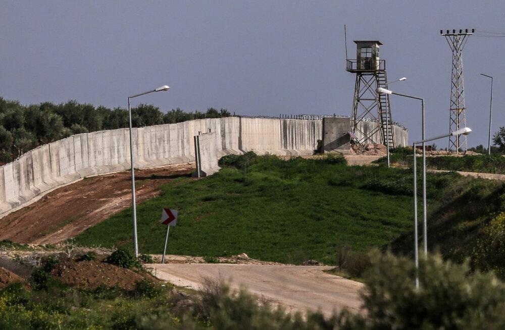 900 km pikkusest Süüria piirile ehitatavast müürist saab peagi teine maailma pikim ehitis