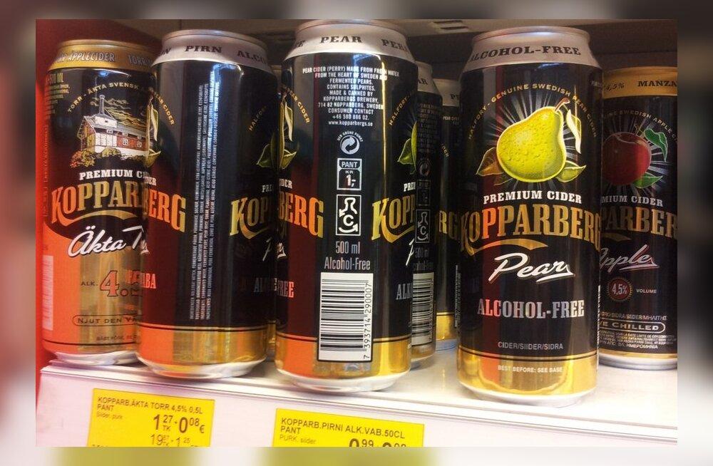 Kas lubad oma alaealisel lapsel alkoholivaba siidrit juua?