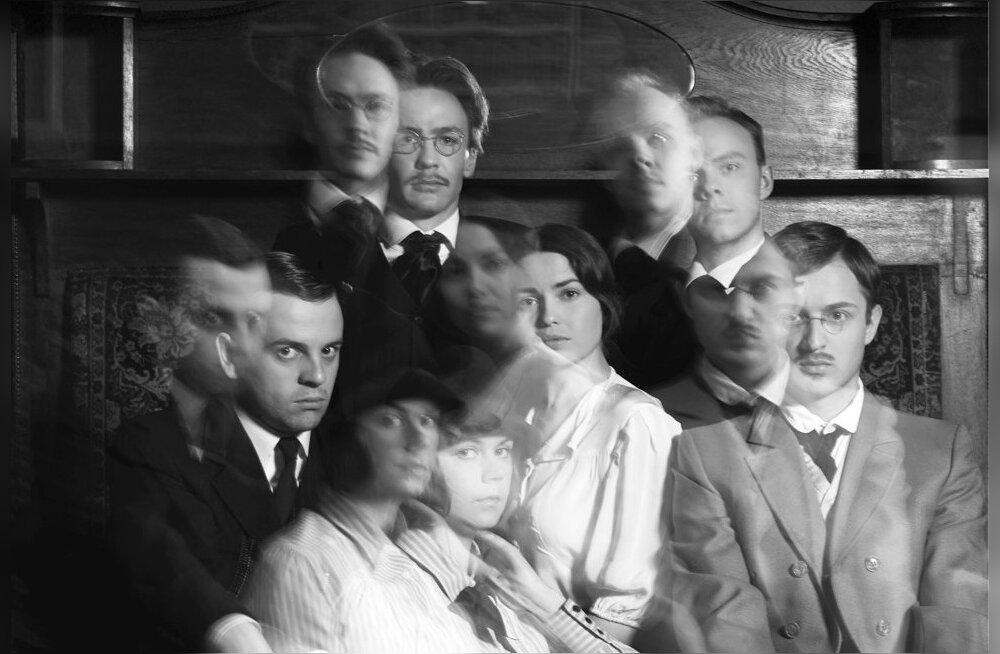 Näitlejad vasakult üleval: Karl Laumets, Karmo Nigula, Jürgen Gensen, Liisa Saaremäel, Ester Kuntu, Christopher Rajaveer.
