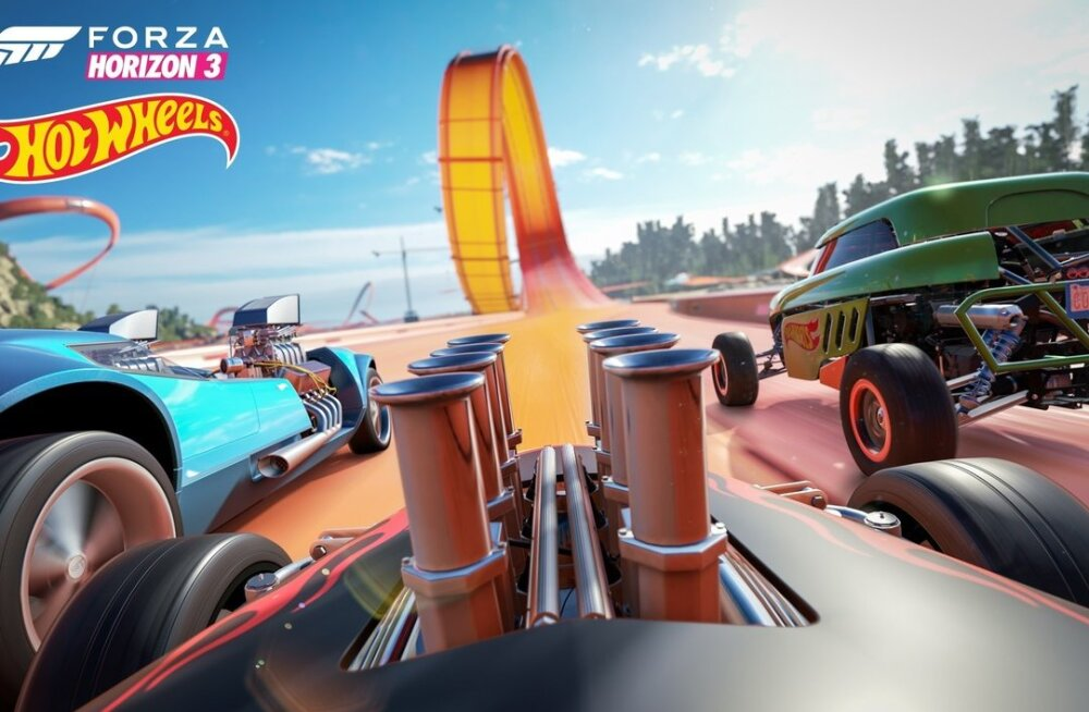 8-14. mai: uusi videomänge – Forza Horizon 3 lisa Hot Wheels, Minecraft (Switch), NBA Playgrounds