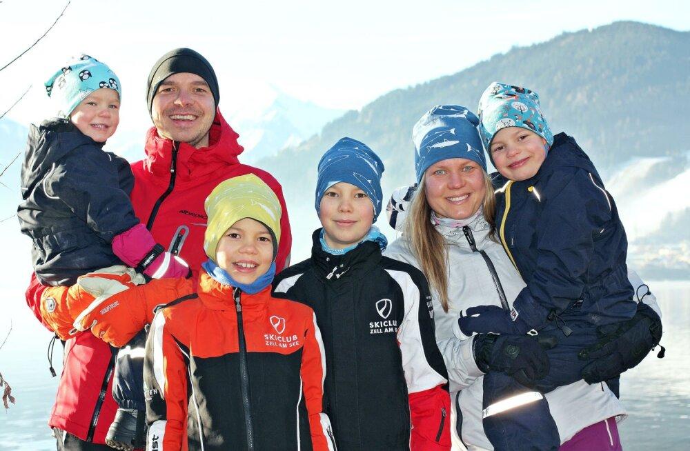 Välismaal elav Eesti pere | Kaugtöö ja kodukool on kõige tavalisemad asjad
