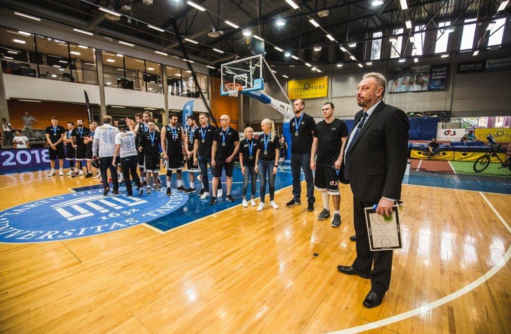 Kaks nädalat tagasi said Tartu korvpallurid kaela Eesti meistriliiga hõbeda. Millal tuleb järgmine medal, pole teada.