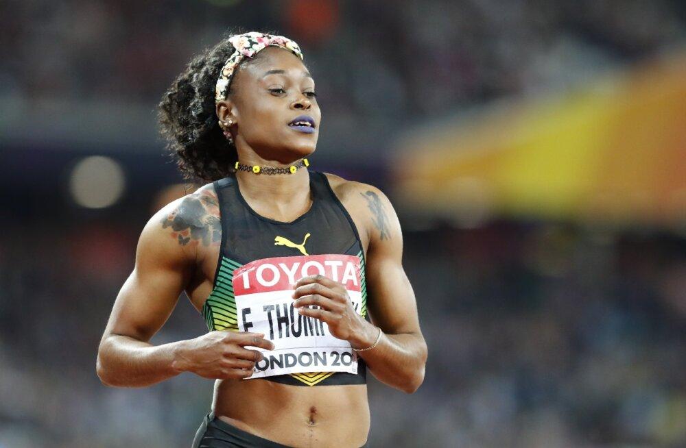Jamaica naissprinter istus dopingukontrollis seitse tundi!