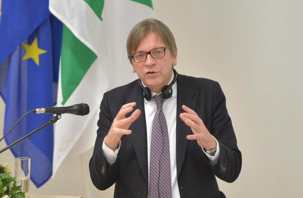 Europarlamendi ALDE fraktsiooni esimehe esinemine