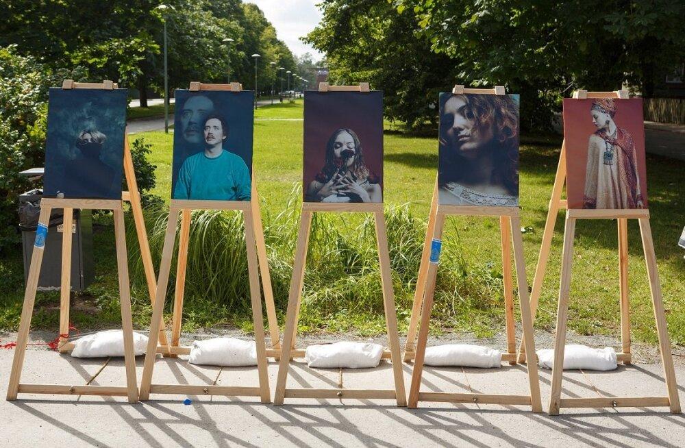 ГАЛЕРЕЯ: Фотоискусство на площади Пельгулинна