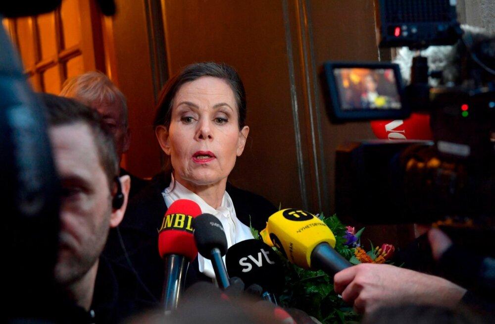 Nobeli kirjanduspreemiat välja andva Rootsi akadeemia esimene naisjuht astus skandaali tõttu tagasi