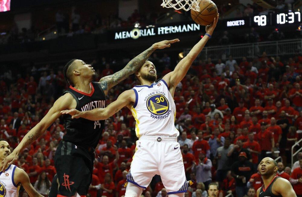 VIDEO | Rockets hoidis Curry vaos ja viigistas konverentsi finaalseeria