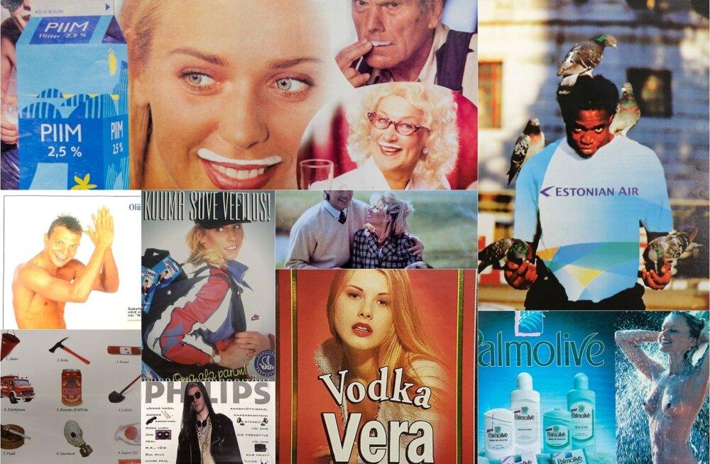 Kes tegid 90ndate Eestis reklaame?