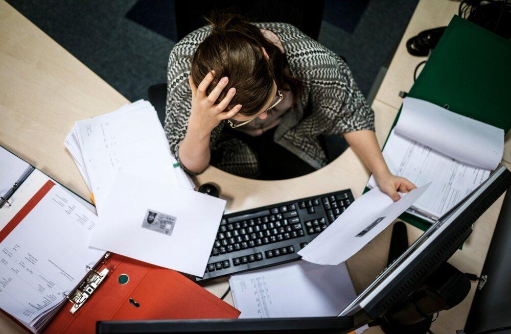 Eestlane töötab keskmiselt 40,3 tundi nädalas