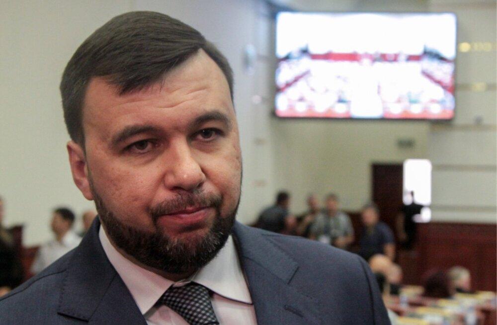"""Tapetud Zahhartšenko poolt kõrvale tõrjutud Pušilinil avanes """"Donetski rahvavabariigis"""" uuesti vaba tee võimule"""
