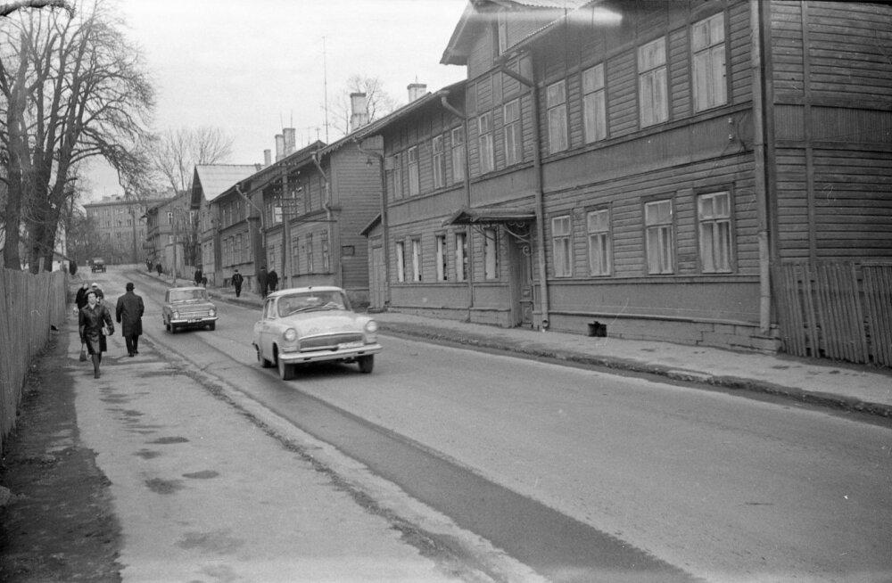 Endla tänav, vaade Tõnismäe poolt, 1968
