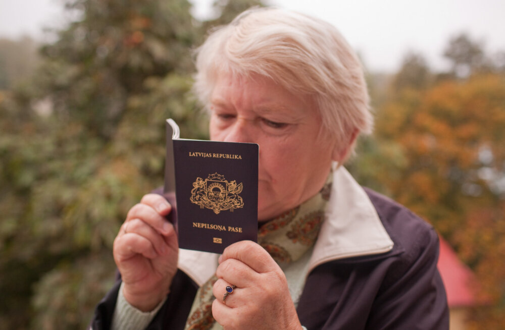 В Латвии в три раза больше неграждан, чем в Эстонии