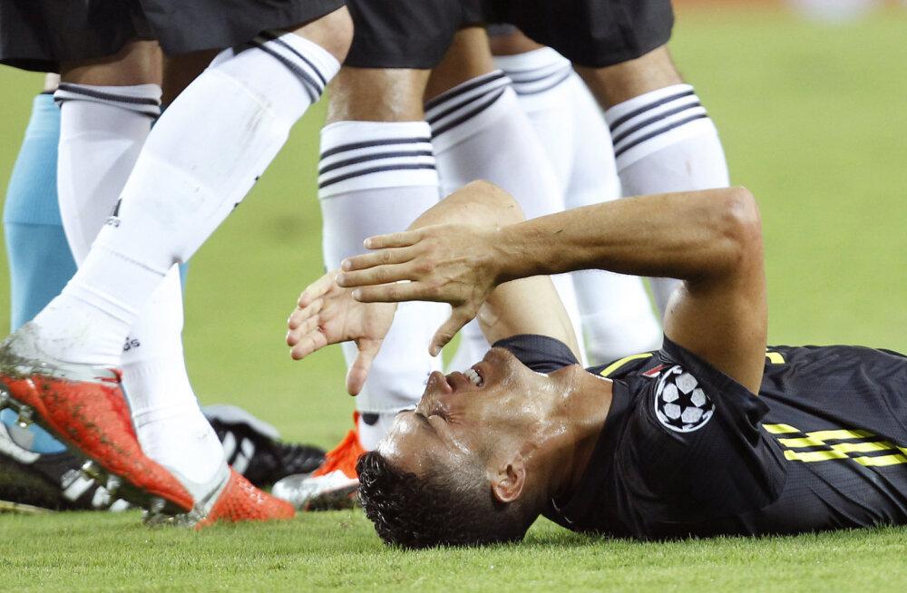 Vandenõuteooria: Ronaldo usub, et tema punane kaart Meistrite liigas polnud juhus