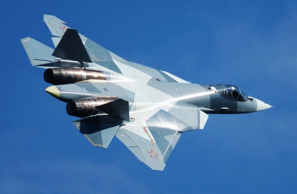 VIDEO   Süürias märgati Venemaa uue põlvkonna hävitajat Su-57