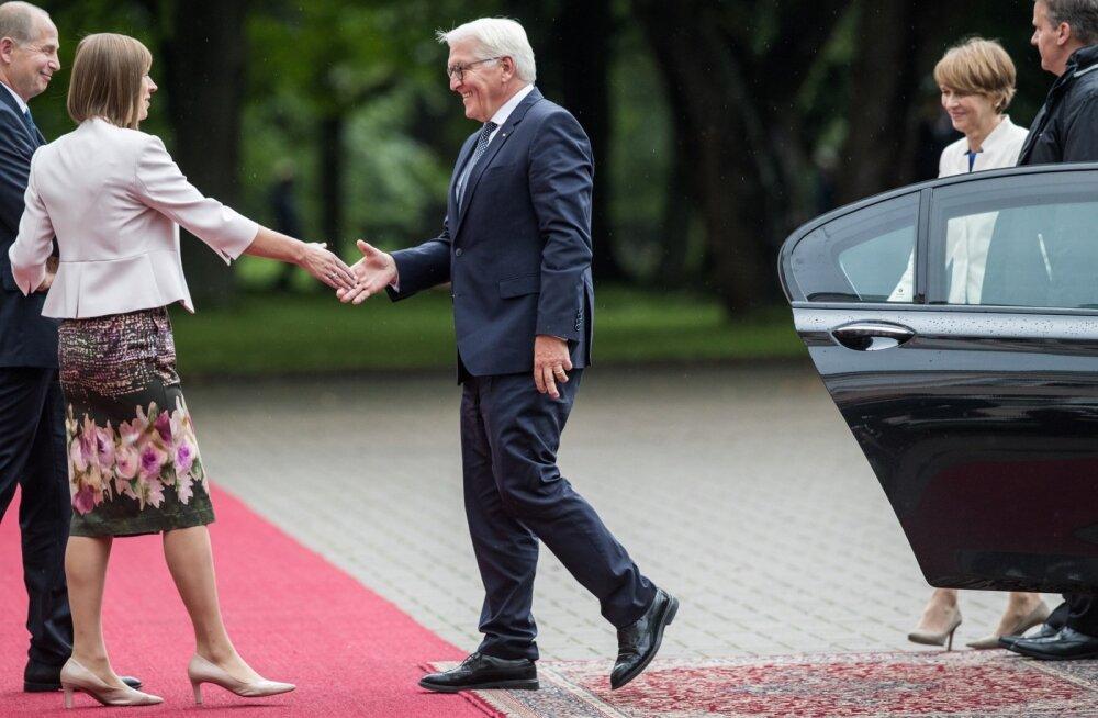 Saksa president Frank-Walter Steinmeier kohtus eile Eesti riigipea Kersti Kaljulaidiga ja kiitis Eestit EL-i eesistujamaana. Olulise kodumaise teema jättis ta aga kõrvale.