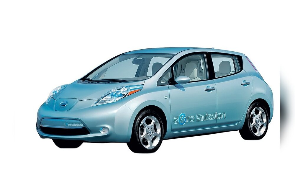 Elektriauto Nissan Leaf jõuab Baltimaadest esimesena Eestisse
