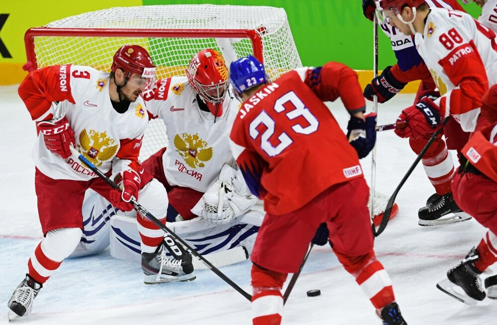 Jäähoki Venemaa vs Tsehhi