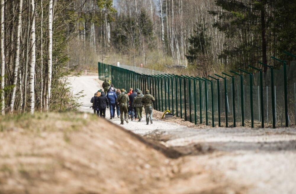 President Eesti-Vene piiril