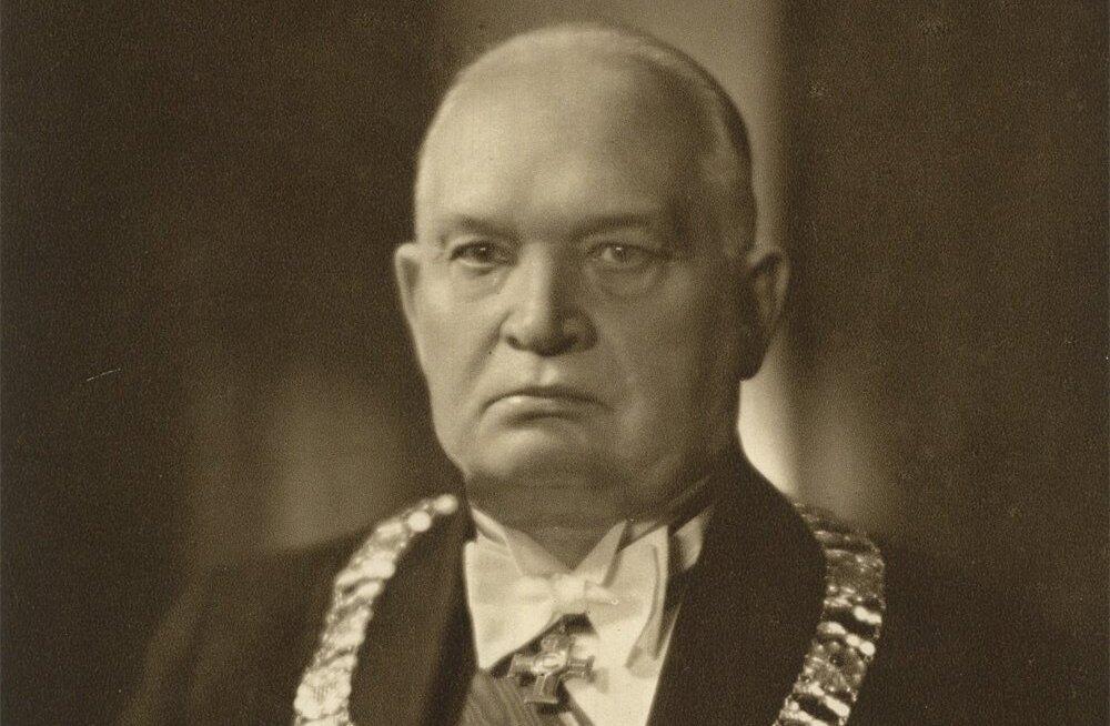 Konstantin Päts aastal 1938