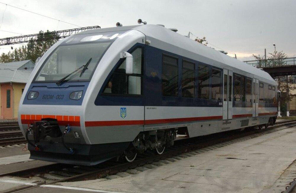 Ukraina paneb läbi Leedu ja Valgevene käima rongiliini Riia ning Kiievi vahel