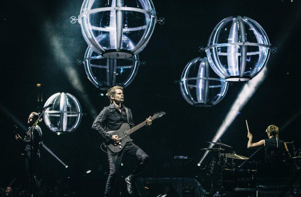 Rokkbänd Muse annab Eesti kinodes eksklusiivse kontserdi