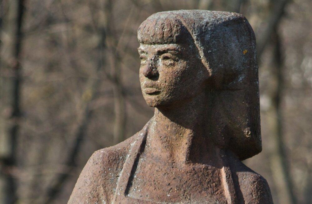 Suri skulptor Juta Eskel