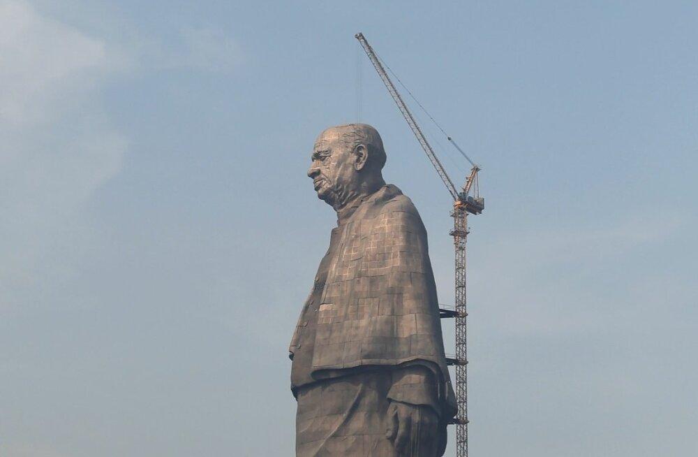 India pronksmees hõivas maailma kõrgeima kuju tiitli
