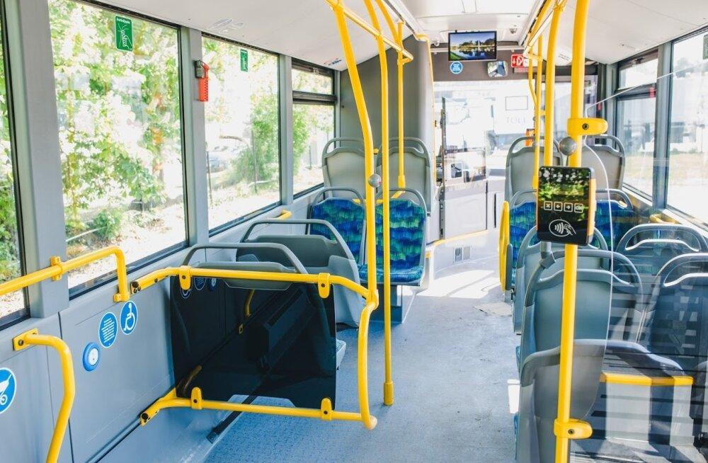 Совсем скоро Ида-Вирумаа перейдет на бесплатный общественный транспорт