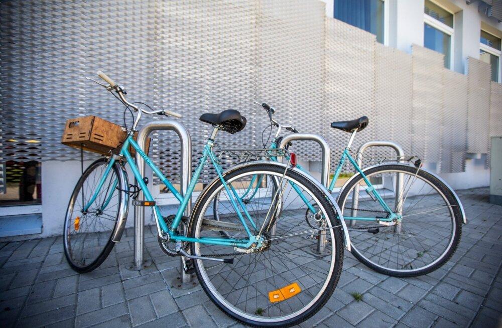 Jalgrattad linnapeal