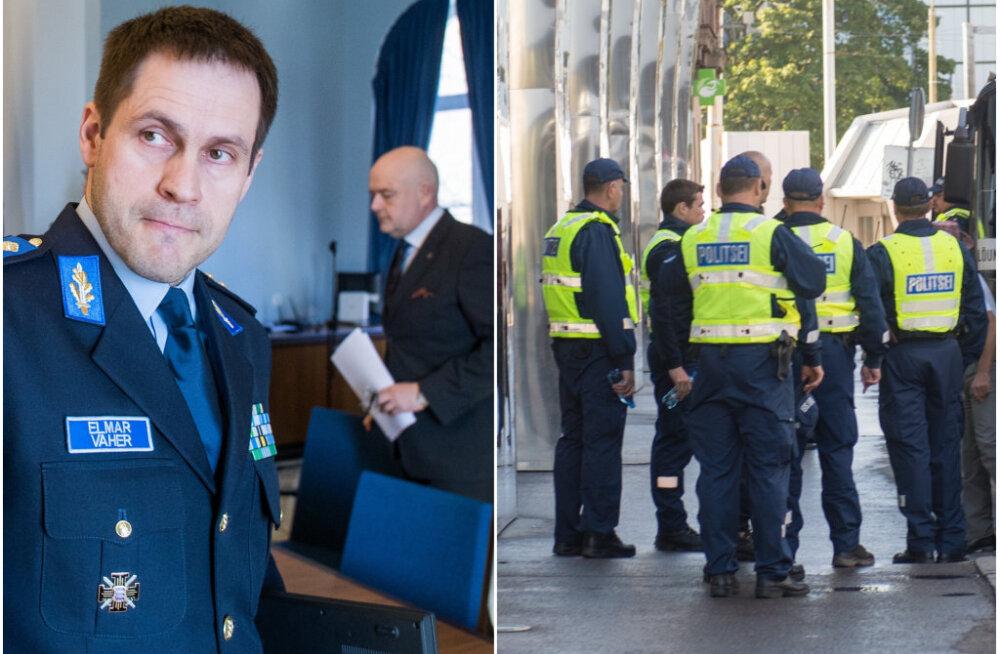 GRAAFIK | Politseijuhtide palk tegi suure hüppe: näiteks Elmar Vaher teenib nüüd varasemaga võrreldes 1000 eurot rohkem, kurta ei saa ka prefektid
